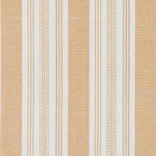 Orange Stripe Drapery and Upholstery Fabric by Duralee