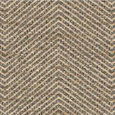 Beige/Light Blue Herringbone Drapery and Upholstery Fabric by Kravet