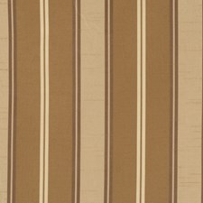 Chocolate Stripes Drapery and Upholstery Fabric by Fabricut