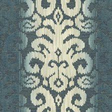 Beige/Blue/Light Blue Liseres Drapery and Upholstery Fabric by Kravet