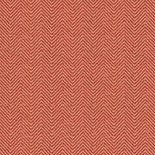 Beige/Red Herringbone Drapery and Upholstery Fabric by Kravet