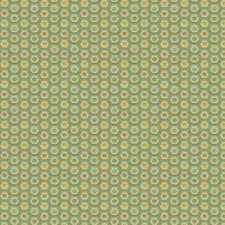 Celery/Beige/Gold Geometric Drapery and Upholstery Fabric by Kravet