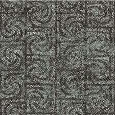Graphite Geometric Drapery and Upholstery Fabric by Kravet