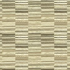 Ivory/Grey/Beige Stripes Drapery and Upholstery Fabric by Kravet