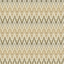 Pearl Grey Flamestitch Drapery and Upholstery Fabric by Kravet