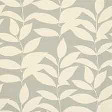 Mist Botanical Drapery and Upholstery Fabric by Kravet