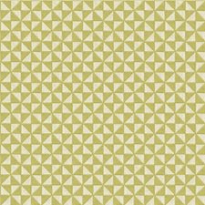 Ivory/Celery Geometric Drapery and Upholstery Fabric by Kravet
