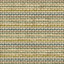 Beige/Teal/Green Stripes Drapery and Upholstery Fabric by Kravet