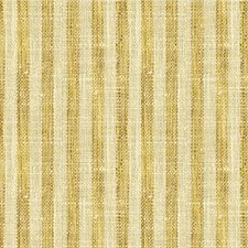 Gold/Ivory Stripes Drapery and Upholstery Fabric by Kravet