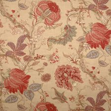 Document Floral Drapery and Upholstery Fabric by Fabricut