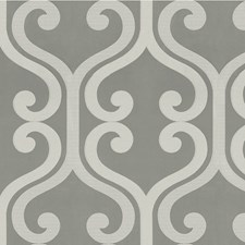 Silver Lattice Drapery and Upholstery Fabric by Kravet