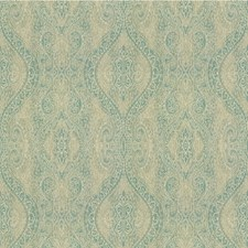 Seamist Paisley Drapery and Upholstery Fabric by Kravet