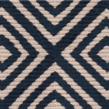 Blue/Beige Texture Drapery and Upholstery Fabric by Kravet