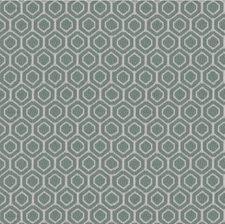 Ivory/Light Blue Geometric Drapery and Upholstery Fabric by Kravet