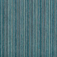 Blue/Turquoise/Light Blue Stripes Drapery and Upholstery Fabric by Kravet