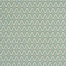 Light Green/White/Taupe Diamond Drapery and Upholstery Fabric by Kravet