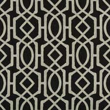 Black/Beige/Light Grey Geometric Drapery and Upholstery Fabric by Kravet