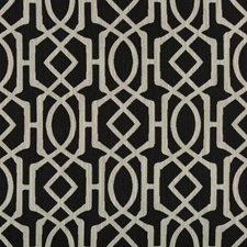 Black/Beige/Light Grey Geometric Drapery and Upholstery Fabric by Kravet