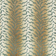 Green/Ivory/Bronze Texture Drapery and Upholstery Fabric by Kravet