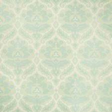 Green/Turquoise/Celery Damask Drapery and Upholstery Fabric by Kravet