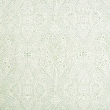 Sage/Beige/Light Blue Paisley Drapery and Upholstery Fabric by Kravet