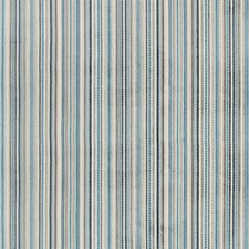 Blue/Light Grey/Beige Stripes Drapery and Upholstery Fabric by Kravet
