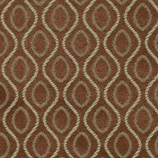 Brown Small Scale Woven Drapery and Upholstery Fabric by Fabricut