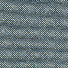 Blue/Light Blue/Beige Texture Drapery and Upholstery Fabric by Kravet