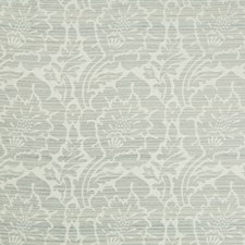 Light Grey/Grey/Ivory Damask Drapery and Upholstery Fabric by Kravet
