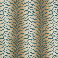 Teal/Brown/Beige Texture Drapery and Upholstery Fabric by Kravet
