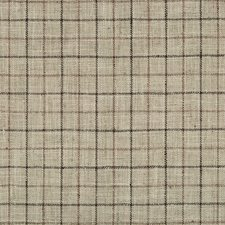Light Grey/Black/Brown Check Drapery and Upholstery Fabric by Kravet