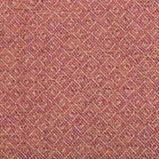 Beige/Red/Orange Diamond Drapery and Upholstery Fabric by Kravet