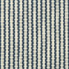 White/Blue Small Scales Drapery and Upholstery Fabric by Kravet
