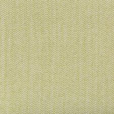 White/Green Herringbone Drapery and Upholstery Fabric by Kravet