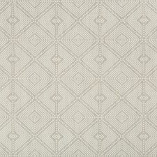 Grey/Light Grey Geometric Drapery and Upholstery Fabric by Kravet