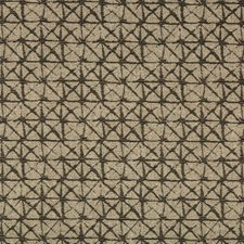 Black/Beige Geometric Drapery and Upholstery Fabric by Kravet