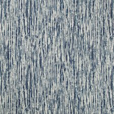 White/Indigo Contemporary Drapery and Upholstery Fabric by Kravet