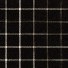 Black/White Plaid Drapery and Upholstery Fabric by Kravet