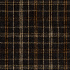 Black/Beige/Brown Plaid Drapery and Upholstery Fabric by Kravet