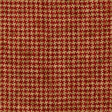 Red/Brown Check Drapery and Upholstery Fabric by Kravet