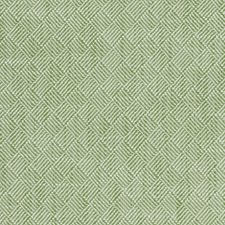 Green/White Small Scale Drapery and Upholstery Fabric by Kravet