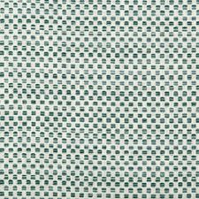 White/Teal Small Scale Drapery and Upholstery Fabric by Kravet