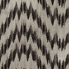 Black/Brown Ikat Drapery and Upholstery Fabric by Duralee