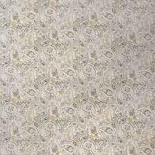 Graphite Paisley Drapery and Upholstery Fabric by Fabricut