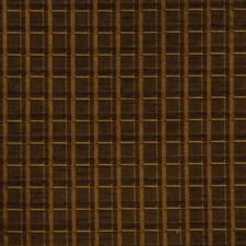 Umber Check Drapery and Upholstery Fabric by Fabricut