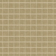 Brown/White Check Drapery and Upholstery Fabric by Kravet