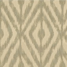 Pearl Gray Ethnic Drapery and Upholstery Fabric by Kravet
