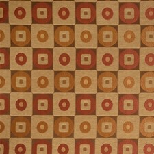 Cinnamon Check Drapery and Upholstery Fabric by Fabricut