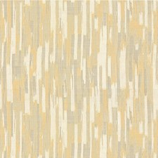 Gold/Ivory Modern Drapery and Upholstery Fabric by Kravet