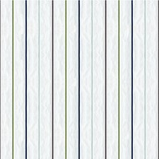 Blue/Grey/Green Stripes Drapery and Upholstery Fabric by Kravet